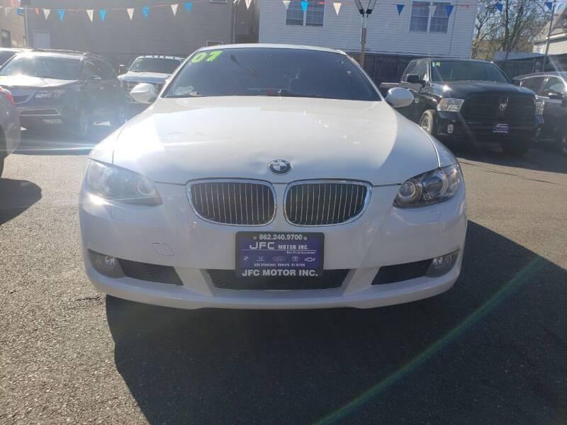 2007 BMW 3 Series for sale at JFC Motors Inc. in Newark NJ