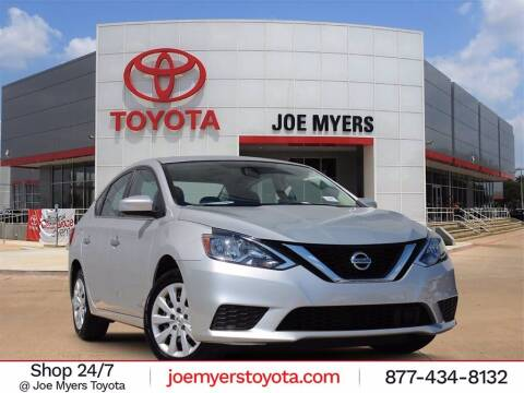 2019 Nissan Sentra for sale at Joe Myers Toyota PreOwned in Houston TX