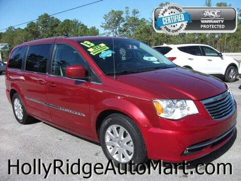 2013 Chrysler Town and Country for sale at Holly Ridge Auto Mart in Holly Ridge NC