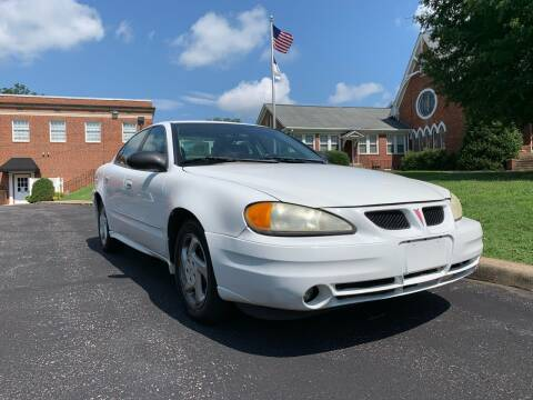 2003 Pontiac Grand Am for sale at Automax of Eden in Eden NC