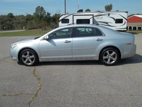 2012 Chevrolet Malibu for sale at Rt. 44 Auto Sales in Chardon OH
