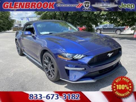 2019 Ford Mustang for sale at Glenbrook Dodge Chrysler Jeep Ram and Fiat in Fort Wayne IN