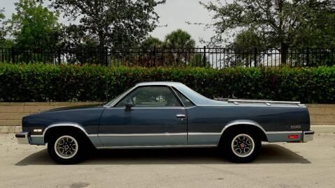1984 Chevrolet El Camino for sale at Premier Luxury Cars in Oakland Park FL