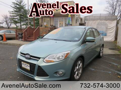 2012 Ford Focus for sale at Avenel Auto Sales in Avenel NJ