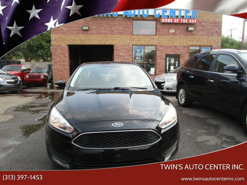 2016 Ford Focus for sale at Twin's Auto Center Inc. in Detroit MI