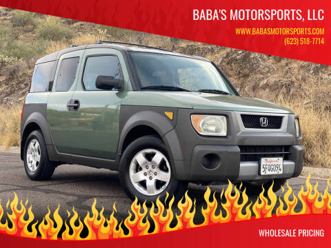 2003 Honda Element for sale at Baba's Motorsports, LLC in Phoenix AZ