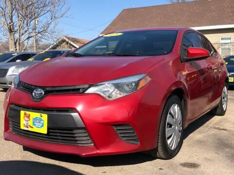 2015 Toyota Corolla for sale at El Tucanazo Auto Sales in Grand Island NE