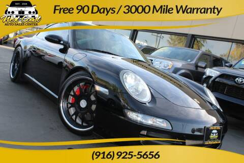 2006 Porsche 911 for sale at West Coast Auto Sales Center in Sacramento CA