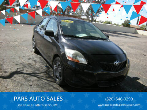 2009 Toyota Yaris for sale at PARS AUTO SALES in Tucson AZ