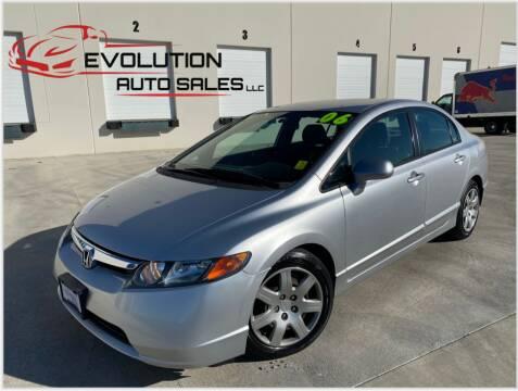 2006 Honda Civic for sale at Evolution Auto Sales LLC in Springville UT