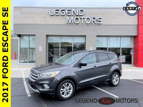 2017 Ford Escape for sale at Legend Motors of Waterford in Waterford MI