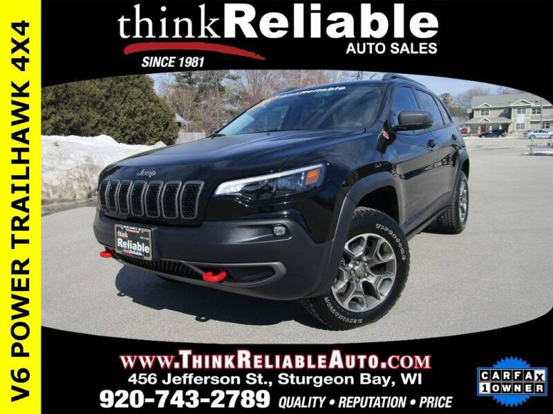 2020 Jeep Cherokee for sale at RELIABLE AUTOMOBILE SALES, INC in Sturgeon Bay WI