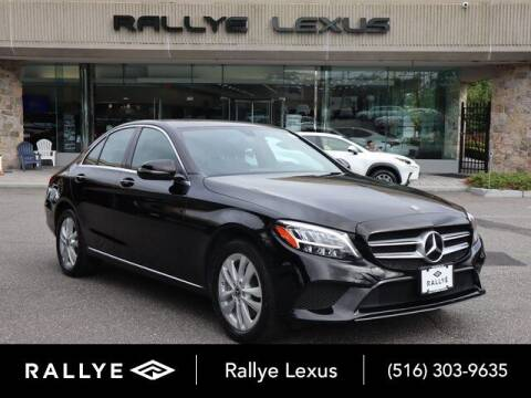 2019 Mercedes-Benz C-Class for sale at RALLYE LEXUS in Glen Cove NY