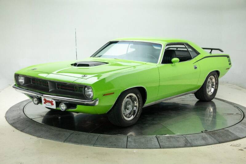 1970 Plymouth Cuda for sale at Duffy's Classic Cars in Cedar Rapids IA