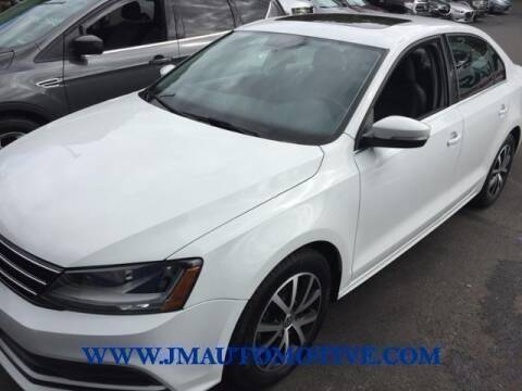 2017 Volkswagen Jetta for sale at J & M Automotive in Naugatuck CT