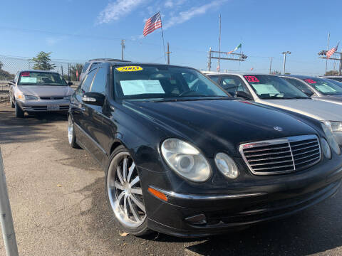 2003 Mercedes-Benz E-Class for sale at Premier Auto Sales in Modesto CA