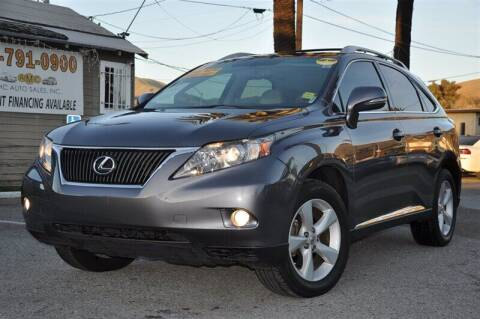 2012 Lexus RX 350 for sale at AMC Auto Sales, Inc. in Fremont CA