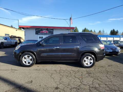2008 GMC Acadia for sale at Ron's Auto Sales in Hillsboro OR