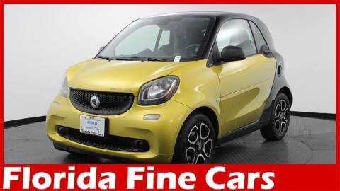 2018 Smart fortwo electric drive for sale at Florida Fine Cars - West Palm Beach in West Palm Beach FL