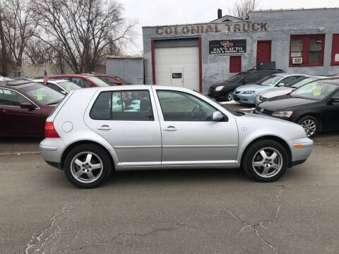 2001 Volkswagen Golf for sale at Dan's Auto Sales and Repair LLC in East Hartford CT