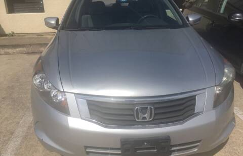 2009 Honda Accord for sale at Affordable Auto Sales in Dallas TX