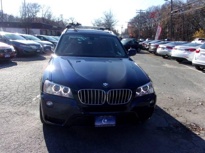 2014 BMW X3 for sale at Balic Autos Inc in Lanham MD