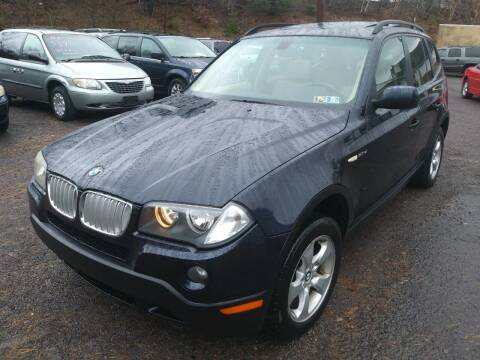 2007 BMW X3 for sale at Car Man Auto in Old Forge PA