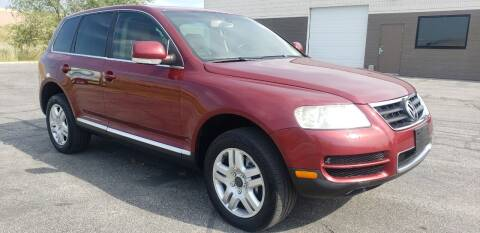 2006 Volkswagen Touareg for sale at AUTOMOTIVE SOLUTIONS in Salt Lake City UT