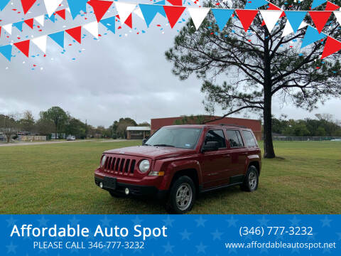 2012 Jeep Patriot for sale at Affordable Auto Spot in Houston TX