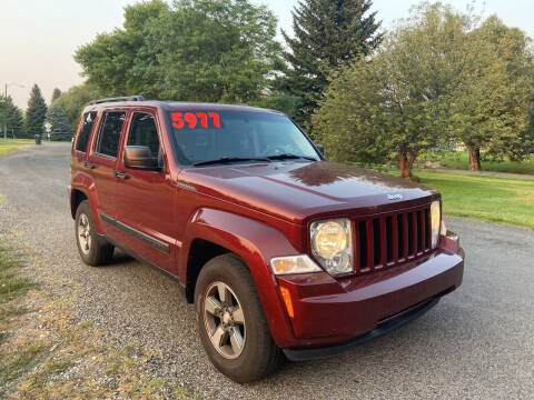 2008 Jeep Liberty for sale at BELOW BOOK AUTO SALES in Idaho Falls ID