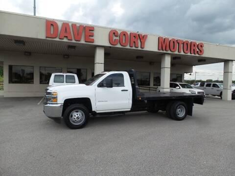 2015 Chevrolet Silverado 3500HD CC for sale at DAVE CORY MOTORS in Houston TX