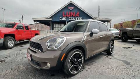 2012 MINI Cooper Countryman for sale at LUNA CAR CENTER in San Antonio TX