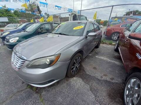 2013 Chrysler 200 for sale at One Stop Auto Sales in Midlothian IL