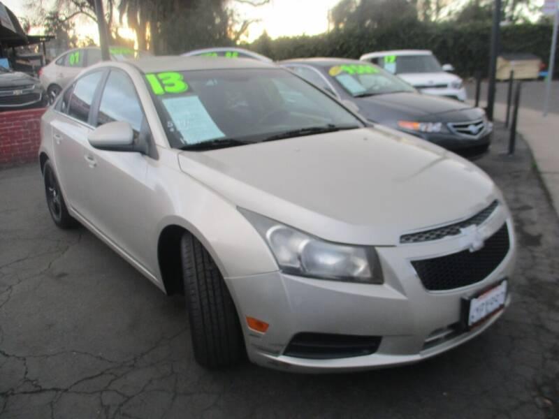 2013 Chevrolet Cruze for sale at Quick Auto Sales in Modesto CA