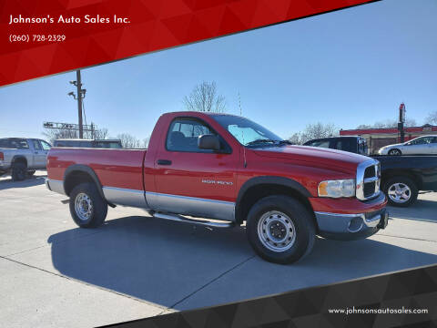 2003 Dodge Ram Pickup 1500 for sale at Johnson's Auto Sales Inc. in Decatur IN
