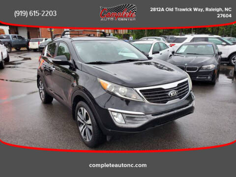 2013 Kia Sportage for sale at Complete Auto Center , Inc in Raleigh NC