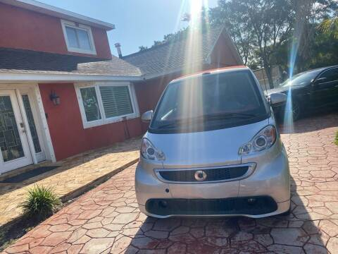 2013 Smart fortwo for sale at ONYX AUTOMOTIVE, LLC in Largo FL