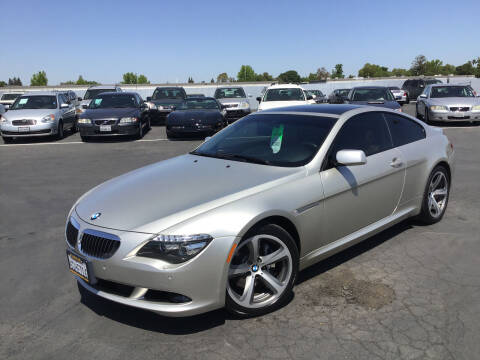 2008 BMW 6 Series for sale at My Three Sons Auto Sales in Sacramento CA