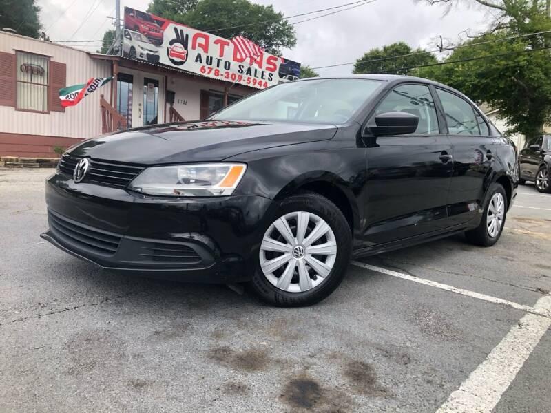 2012 Volkswagen Jetta for sale at Atlas Auto Sales in Smyrna GA