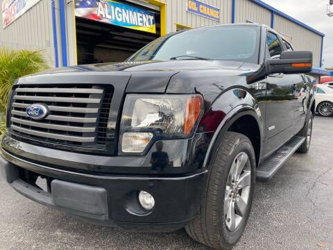 2011 Ford F-150 for sale at RoMicco Cars and Trucks in Tampa FL
