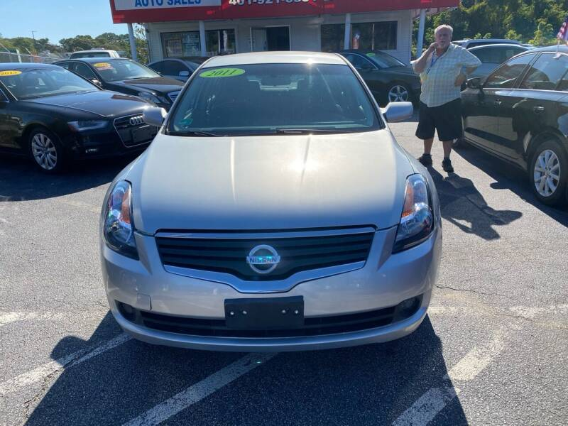 2008 Nissan Altima for sale at Sandy Lane Auto Sales and Repair in Warwick RI