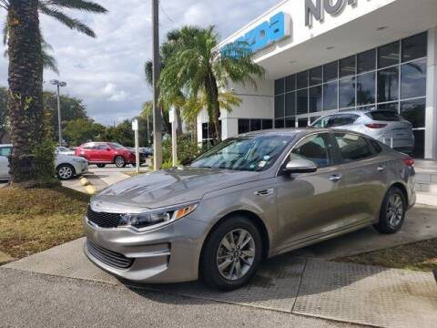 2018 Kia Optima for sale at Mazda of North Miami in Miami FL