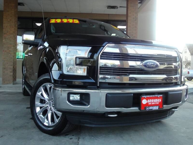 2016 Ford F-150 for sale at Arandas Auto Sales in Milwaukee WI