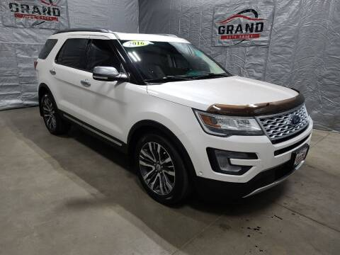 2016 Ford Explorer for sale at GRAND AUTO SALES in Grand Island NE