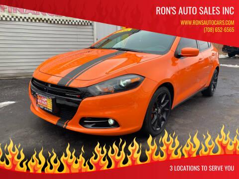 2014 Dodge Dart for sale at RON'S AUTO SALES INC in Cicero IL