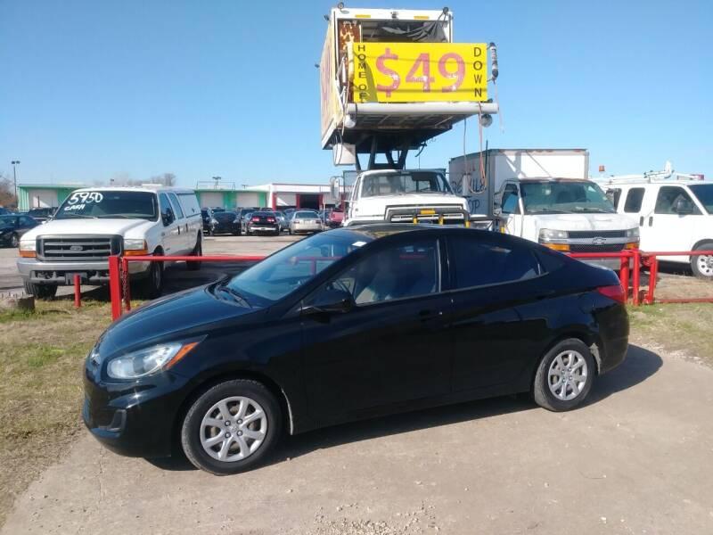 2012 Hyundai Accent for sale at USA Auto Sales in Dallas TX