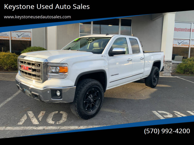 2014 GMC Sierra 1500 for sale at Keystone Used Auto Sales in Brodheadsville PA