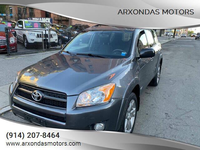 2009 Toyota RAV4 for sale at ARXONDAS MOTORS in Yonkers NY