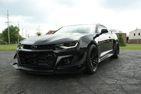 2018 Chevrolet Camaro for sale at MARK CRIST MOTORSPORTS in Angola IN