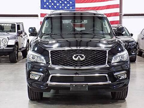 2015 Infiniti QX80 for sale at Texas Motor Sport in Houston TX
